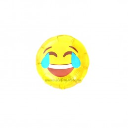 Mini Balon Emoticon Laugh