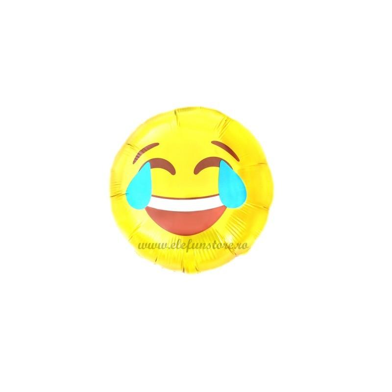 Mini Balon Emoticon Laugh