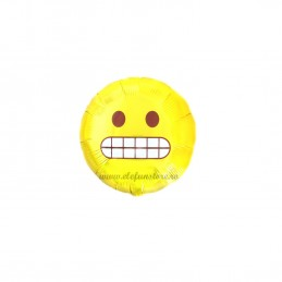Mini Balon Emoticon Worried