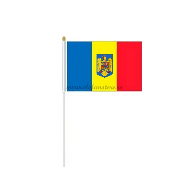 Steag Romania cu Stema 45*30cm