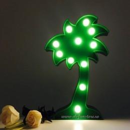 Decoratiune LED Palmier