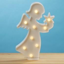 Decoratiune LED Ingeras Alb
