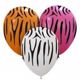 Set 10 baloane Dungi Zebra
