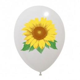 Set 10 baloane Floarea Soarelui