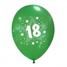 Set 10 baloane Multicolore 18