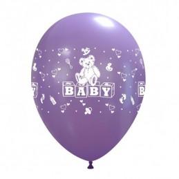 Set 10 baloane Baby Multicolore