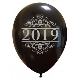 Set 10 baloane 2019 Silver