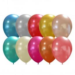 Baloane Multicolore Metalizate 26 cm