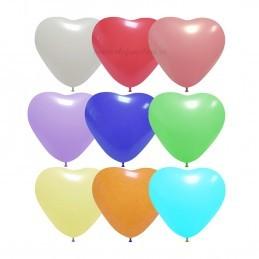 Baloane Multicolore Profesionale Inima 26 cm