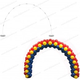 Arcada rotunda pentru baloane 5.6m