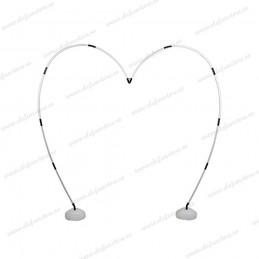 Arcada inima metalica pentru baloane 6m