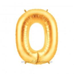 Balon Cifra 0 Aurie 100cm