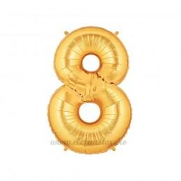 Balon Cifra 8 Aurie 100cm