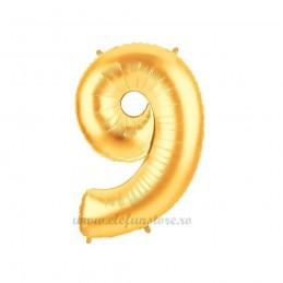 Balon Cifra 9 Aurie 100cm