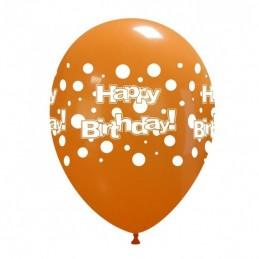 Set 10 baloane Happy Birthday cu buline