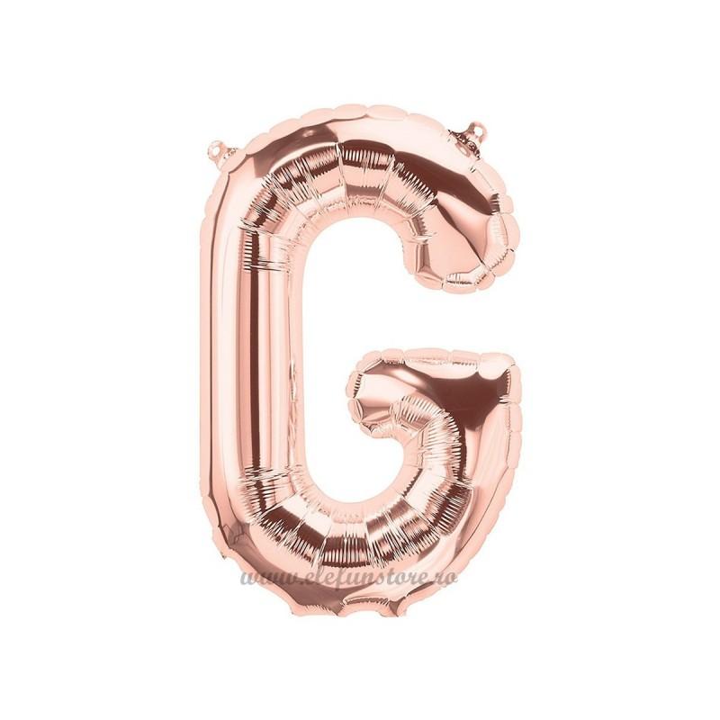 Balon Litera G Rose Gold 40cm