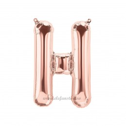 Balon Litera H Rose Gold 40cm