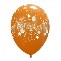 Set 10 baloane Party Multicolore