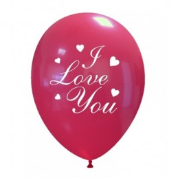 Set 10 baloane I Love You Clasic 30cm