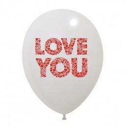 Set 10 baloane Love You 30cm
