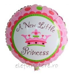 """Balon """"A New Little Pricess """" roz"""