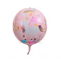 Balon Sfera 3D Unicorn
