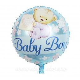 """Balon """"A New Little Prince """" bleu"""