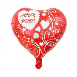Balon Inima LOVE YOU Floricele