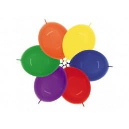 Set 100 Baloane Link Standard Asortate 30 cm