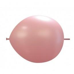 Set 100 Baloane Link Roz Deschis 30 cm