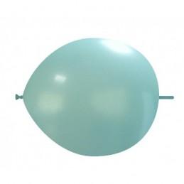 Set 100 Baloane Link Baby Blue 30 cm