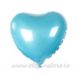 Balon Inima Argintie