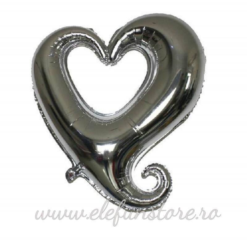 Balon Inima Aurie Super Shape