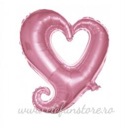 Balon Inima Albastra Super Shape
