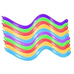 Set 100 Baloane Modelaj Mini Asortate Standard