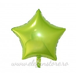 Balon Stea Verde Lime