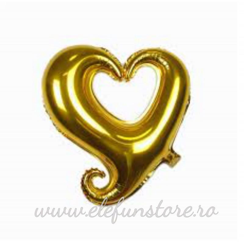 Balon Inima Silver Gigant