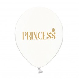 Set 5 baloane Princess Transparente