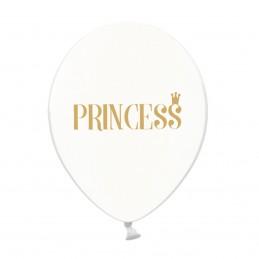 Set 5 baloane Princess Transparente