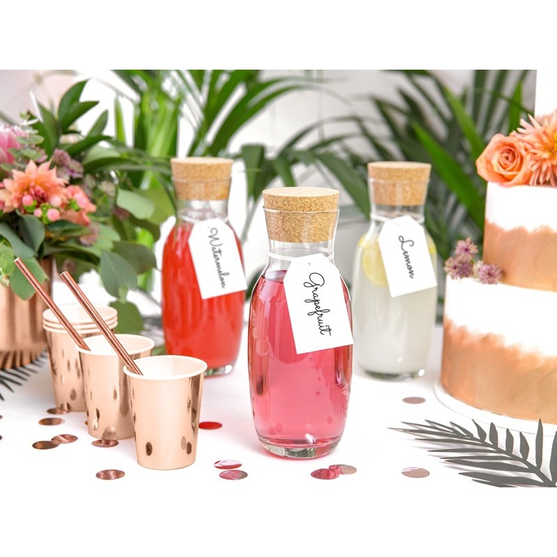 Set 6 pahare Rose Gold 220ml