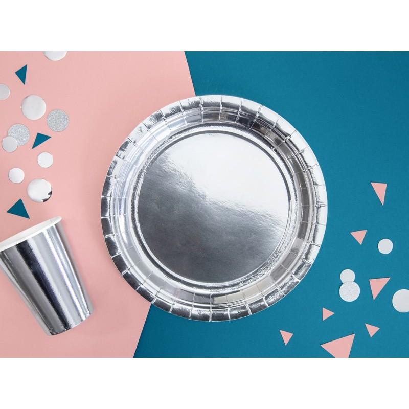 Set 6 pahare Argintii 220ml