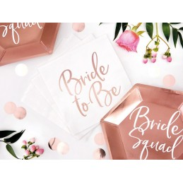Set 20 servetele Bride To Be
