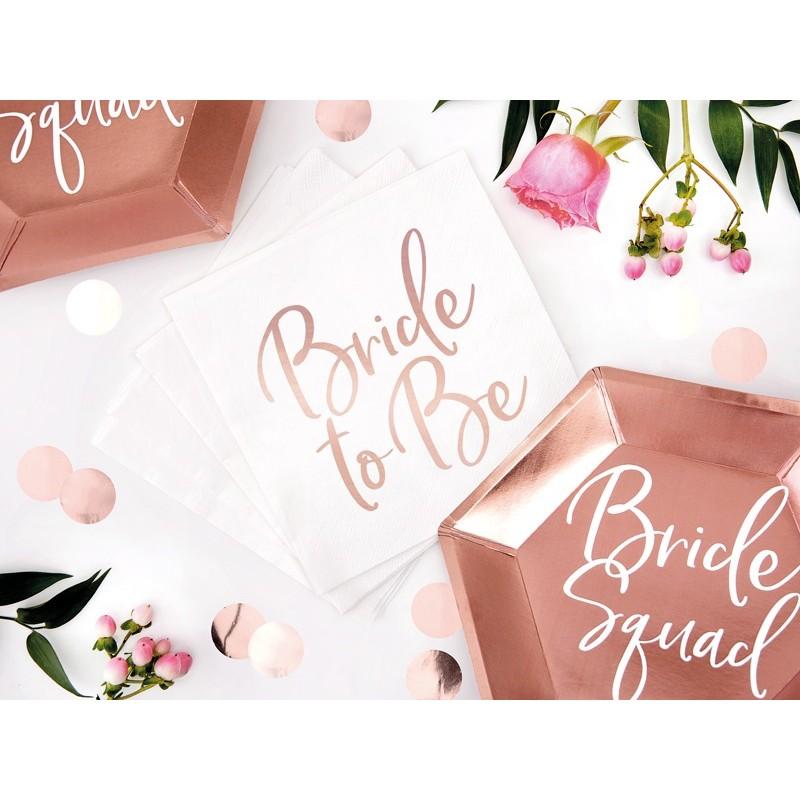 Set 20 servetele Bride To Be