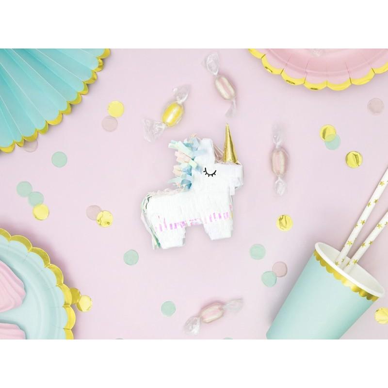 Mini Piniata Unicorn Iridiscent 8cm