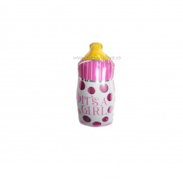 "Balon Mini Biberon ""It's a girl"""