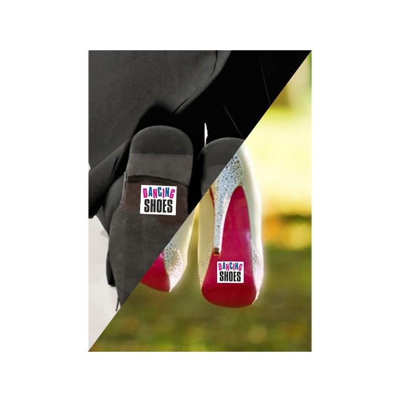 Set 2 Stickere Pantofi Dancing Shoes