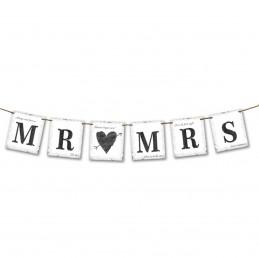 Banner MR & MRS Vintage