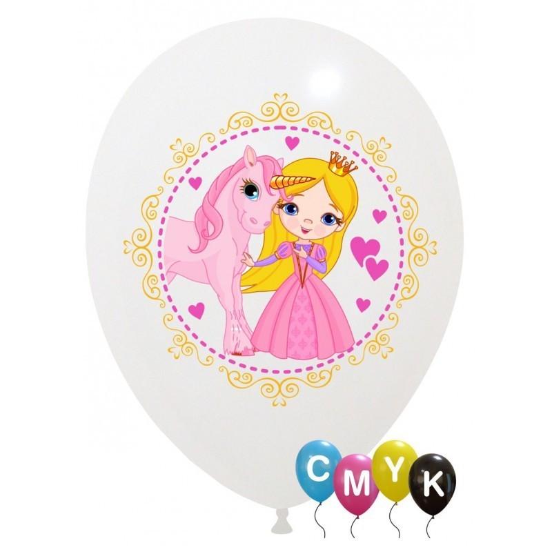 Set 10 baloane Little Princess