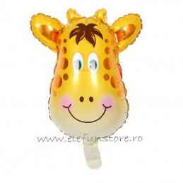 Balon Mini Figurina Girafa 40cm