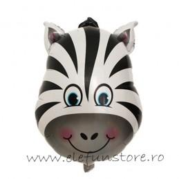 Balon Figurina Zebra Medie 55cm
